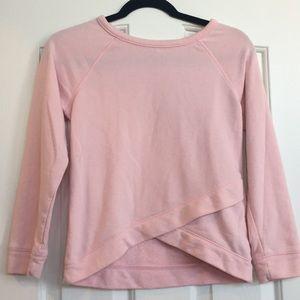 light pink sweatshirt 💗